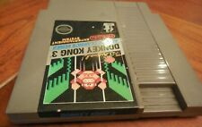 DONKEY KONG 3 Nintendo NES Game Cartridge: Cleaned/ Tested Cartridge 5-Screw
