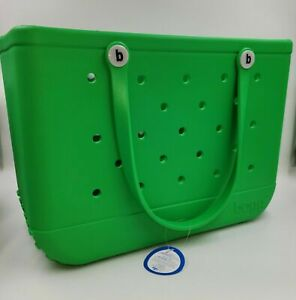 ORIGINAL BOGG GREEN WITH ENVY BOGG BAG [LARGE] NWT BRAND NEW