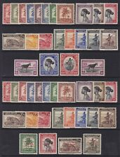 Belgian Congo 1942/44 Stamps set Cob#228/67 + Red Cross set 270/73 - All MNH Lx