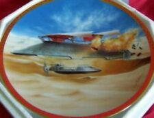 Star Wars Jabba's Sail Barge Space Vehicles Plate 1996 New Boxed With Coa