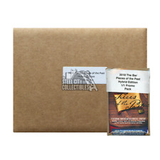2018 Super Break Pieces of the Past Hybrid Edition 10-Box Case + 1/1 Promo Pack