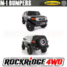 Toyota FJ Cruiser Smittybilt Front & Rear Bumper Set - Winch Not Included