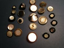 New listing Large Lot Buttons with Mother of Pearl Shell Centers $4 Ship