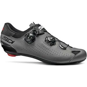 Sidi Genius 10 Bicycle Cycle Bike Road Shoes Black / Grey