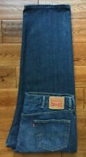 AUTHENTIC Levis 550 Relaxed Fit Mens Blue Jeans TRUE 44x30 GREAT CONDITION!