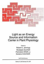 Light As an Energy Source and Information Carrier in Plant Physiology 287...