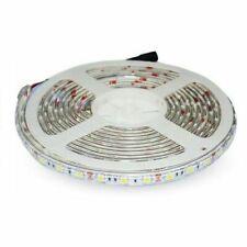 Tira LED 12V DC SMD5050 60LED luz fria 5 M 14.4W