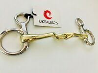 Hanging Cheek Snaffle Bit Verbindend Angled with lozenge GS & SS (Horse Bits)