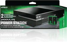NYKO Modular Power Station Plus for XBOX ONE, Dual Battery Charger, Media Remote