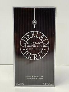 L'Instant De Guerlain Pour Homme Men 4.2oz/125ml EDT Spray NIB Sealed