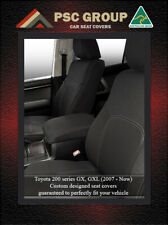 Seat Cover fits Toyota Landcruiser 200 Series Front Waterproof Premium Neoprene