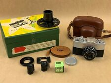 Narciss Russian Subminiature camera w /Original Box Krasnogorsk - Clean & Rare !