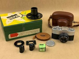 Narciss Russian Subminiature camera w /Original Box Krasnogorsk - Clean & Rare !