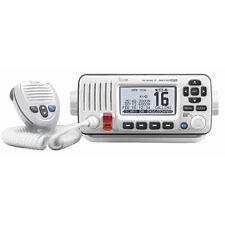 ICOM M424G Fixed Mount VHF Marine Transceiver w/ Built-In GPS White IC-M424G 22