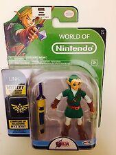 "World of Nintendo LINK Series 1-4 with Mystery Accessory! 4"" Figure Zelda"