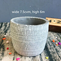 Small Flower Pot Silicone Concrete Molds Handmade Cement Planter Making mould