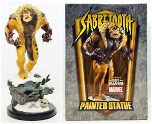 "Bowen Designs Marvel Sabretooth 12.5"" Statue Signed by Stan Lee Artist Proof"