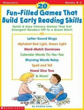 20 Fun-Filled Games That Build Early Reading Skills: Quick and Easy Literacy Gam