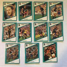 1988 CARLTON VFL / AFL Scanlens Cards...Team Set + 2 Extra's...11 Cards HUNTER