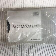 6 Cd Magazine Compact Disc Digital Audio Brand New F87F-18C833-Aa