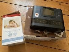 Canon SELPHY CP1300 Inkjet Wireless Photo Printer - Black.