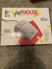 LOGITECH First Mouse Serial Version Vintage Brand new in box