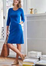 Pomodoro Blue Ottoman Dress Size 20 New Worth £76