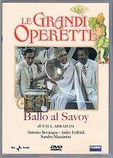 LE GRANDI OPERETTE BALLO A SAVOY A. BEVACQUA A. FELFOLDI DVD RAI TRADE FABBRI ED
