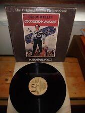 """Bernard Herrmann """"Citizen Kane"""" LP UNITED ARTISTS USA 1975"""