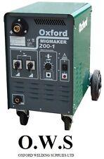 Oxford MIG Welder MIGMAKER 200-1 Single Phase c/w Torch,Reg Earth Lead