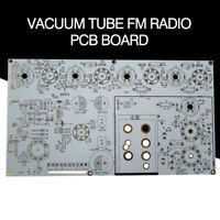 Vacuum Tube FM Radio Vintage Audio Valve Stereo Receiver Bare PCB DIY Board