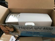 Verilux 4500 HappyLight Light Energy Lamp Therapy Fight Fatigue Depression
