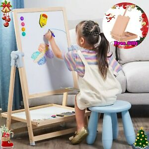 Portable Durable Easel Magnetic Children Paint Drawing Crafts Art Supplies+Gift