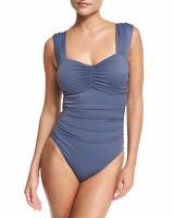 Magicsuit Womens Natalie Solid Cap-Sleeve One-Piece Swimsuit