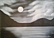 """ORIGINAL OIL PAINTING BY ROHDART AUSTRALIAN ARTIST """" Strange Daze """""""