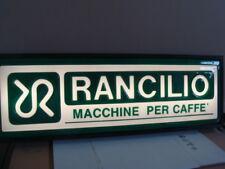 Macchine per caffè Rancilio old vintage sign coffee Ducale Z 8