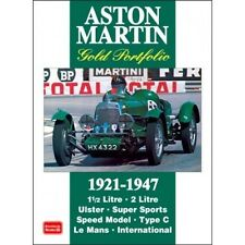 Aston Martin Libro Cartera De Oro 1921-1947 papel coche