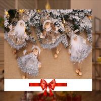 Flocon de neige Exhibition Arbre de Noël Joyeux Noël Poupée de Noël Petit ange