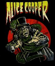 ALICE COOPER cd lgo Constrictor COMIC BOOK Official SHIRT LAST MED new