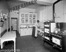 Photograph Chambers Fireless Gas Range in Mr Walker Kitchen Year 1919 8x10