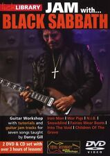 LICK LIBRARY Learn to Play JAM WITH BLACK SABBATH War Pigs Iron Man GUITAR DVD