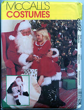 Santa Suit with Boots w Santa Doll - Medium - Pattern