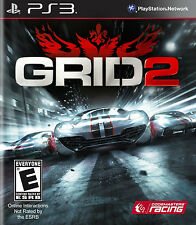 NEW Grid 2 (Sony Playstation 3, 2013) NTSC