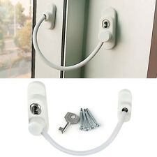 Weiß Window Door Cable Restrictor Ventilator Child Safety Tested Security Lock
