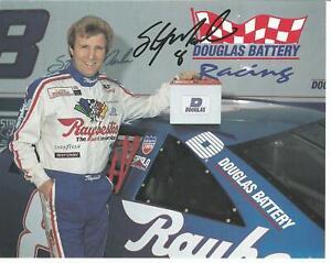 Sterlin Marlin Autographed 5x7 Postcard NASCAR L@@K