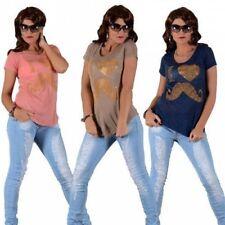 Short Sleeve Crew Neck Blouse Plus Size for Women