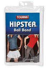 Unique Sports Tourna Hipster Tennis Ball Holder Waist Stretch Band Black, Medium