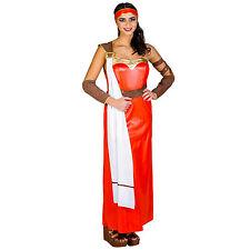 Frauenkostüm Römerin Gladiatorin Antike Damen Kostüm Karneval Fasnacht Kleid