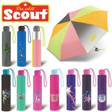 Scout Kinder Regenschirm XL Reflektionsflächen extra leicht für Jungen Mädchen