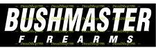 Bushmaster Firearms II-Hunting/Outdoor Sports- Vinyl Die-Cut Peel N' Stick Decal
